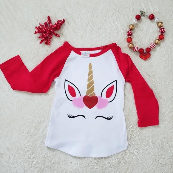 e598568be Boutique Shirts & Tops | Hp Toddler Girls Unicorn Shirt | Poshmark